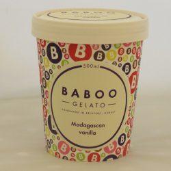 Baboo Gelato Madagascan Vanilla 500ml