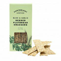 C&B Olive & Garlic Wheat Flatbreads