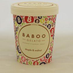 Baboo Gelato Maple & Walnut 500ml