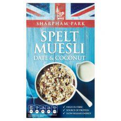 Sharpham Spelt Muesli Date & Coconut 450g