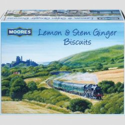 Lemon & Ginger Corf Gift Box Biscuits 300G