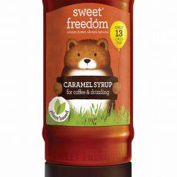 Sweet Freedom Caramel Coffee Syrup