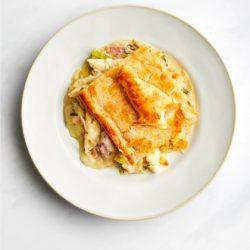 Chicken, Leek & Bacon Pie (1)