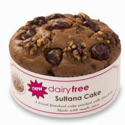 Riverbank dairy free sultana Cake