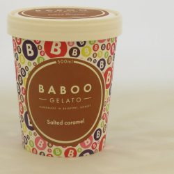 Baboo Gelato Salted Caramel 500ml