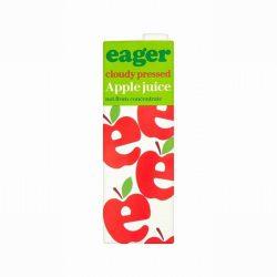 Eager Cloudy Apple Juice 1L