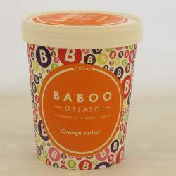 Baboo Sorbet Orange 500ml