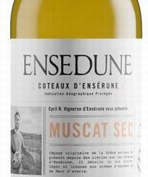 Muscat Sec Enseduna Coteeaux d'Enserune
