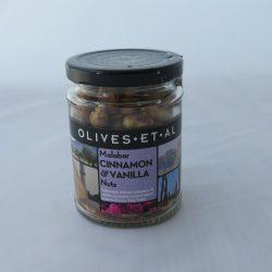 Jar Malabar Cinnamon & Vanilla nuts 150g