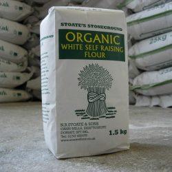 Organic self rasing flour