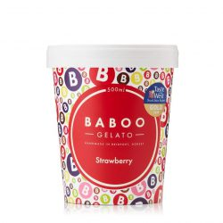 Baboo Gelato Strawberry 500ml