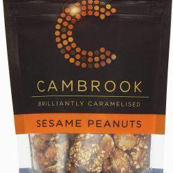 Caramelised Sesame Peanuts 80g Bag