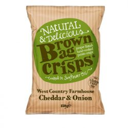 Brown Bag Cheese & Onion 150g