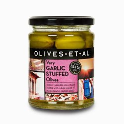 Jar Olives Garlic Stuffed