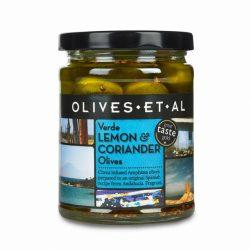 Jar Lemon & Coriander Olives