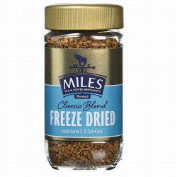 Miles Instant Freeze Dried Coffee 100g Jar