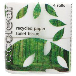 Ecoleaf 4pack Toilet Tissue