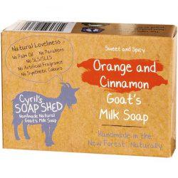 CSS ORANGE & CINNAMON SOAP