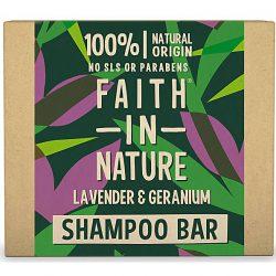 FIN Lav & Geranium Shampoo bar 100g
