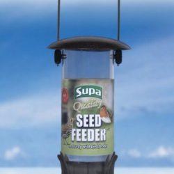 Metal Hammertone Seed Feeder