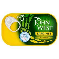 John West Sardines in Sunflower Oil 120g
