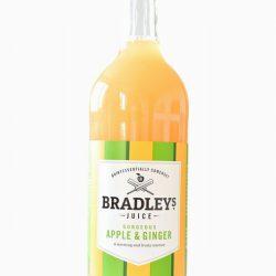Bradleys Apple & Ginger Juice 75cl
