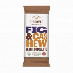 Discover Dark Fig & Cashew Chocolate 50g