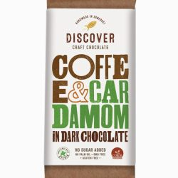 Discover DarkCoffeeCardamom Chocolate 50g