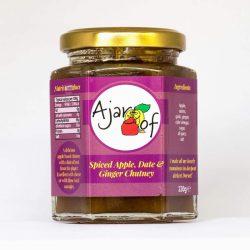 Ajar Of Spiced Apple, Date & Ginger