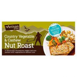 Artisan GrainsVeg & Cashew Nut Roast
