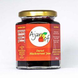 Ajar Of Blackcurrant Jam