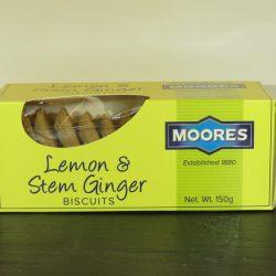 MB Lemon & Stem Ginger Biscuits 150g