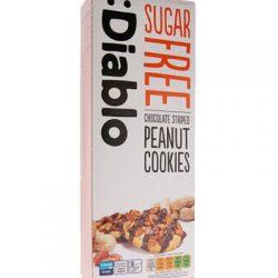 Diablo Choc P/nut Cookies150g