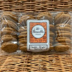 Bramble Ginger Biscuits