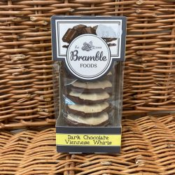 Bramble Dark Choc Viennese Biscuits