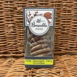 Bramble Milk Choc Oaty Biscuits