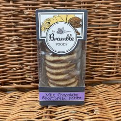 Bramble Milk Choc Shorbread Melts