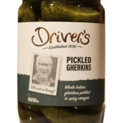 XM  Drivers Pickled Gherkins