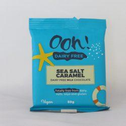 Dairy Free Sea Salt Carmel Chocolate 50g