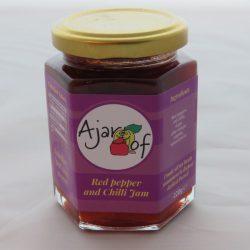 Ajar Of Red Pepper & Chilli Jam