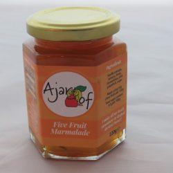 Ajar Of Five Fruit Marmalade
