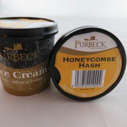 Honeycomb Hash Ice Cream 125ml