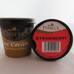 Strawberry Ice Cream 125ml