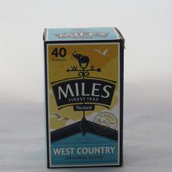 Miles W/Ctry Orig Tea Bags 40's