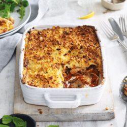 Chicken & Mushroom Lasagne (4)
