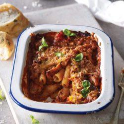 Chicken & Tomato Pasta Bake (1) N