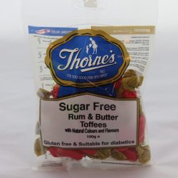 Sugar Free Rum & Butter Toffees