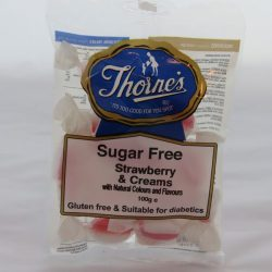 Sugar Free Strawberries & Cream