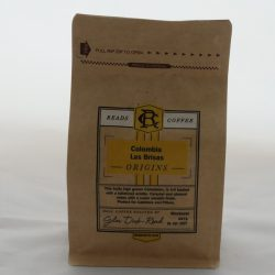 Reads Coffee beans (Colombian)