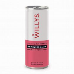 Willy's Natural Raspberry Energy Drink 250ml